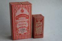 Anciennes boites publicitaires Talc de Venise