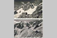 4 CPA SUISSE Valais Cabane Dufour Mont Dolent à la Neuvaz La Tour Noire