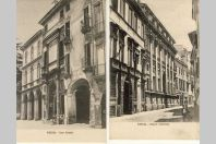 2 CPA ITALIE Italia Vicenza Casa Pallardio Palazzo Valmarana