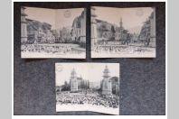 3 CPA Suisse VAUD Centenaire Canton de Vaud Cartes Officielles 1903