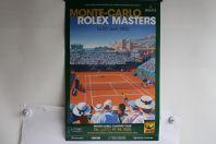 ROLEX Affiche tournoi Tennis 2012 Monte-Carlo