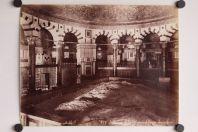 Photo BONFILS Palestine Jérusalem Intérieur de la mosquée d'Omar