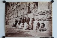 Photo BONFILS Palestine Jérusalem Mur où les Juifs vont pleurer