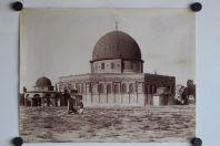 Photo BONFILS Palestine Jérusalem Mosquée d'Omar et tribunal de David
