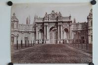 Photo ABDULLAH Frères Turquie Constantinople Porte du Palais Dolma-Bagtché