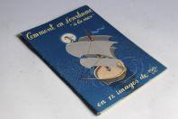 "Pochette + 11 calendriers MOALIC Comment on s'enrhume ""à la mer"""