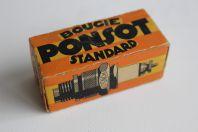 Boite de bougie auto PONSOT dessin Eric de Coulon