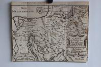 Carte géographique du Voïage des Israélites Égypte