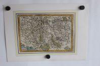 Carte géographique Canton Zurichou Suisse 1635-38