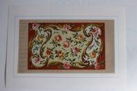 Carton tapisserie de Berlin XIXe siècle