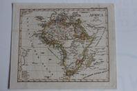 Carte géographique Africa 1834 Stieler's Schul Atlas