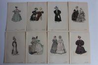 Anciennes gravures de mode