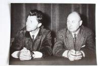 Photo Gérard Philipe et Claude Autant-Lara 1953 Cinéma