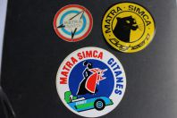 Autocollants automobiles Matra Simca