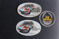 Autocollants automobiles Citroën GS Birotor