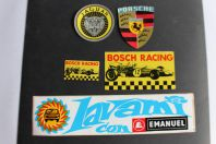 Autocollants automobiles Porsche Jaguar Bosch racing