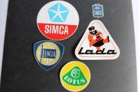 Autocollants automobiles Simca Lancia Lotus