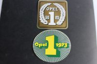 Autocollants automobiles Opel 1973