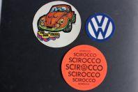 Autocollants automobiles Volkswagen scirocco