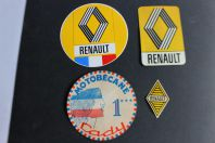 Autocollants automobiles Renault Motobécane Cady