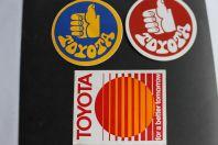 Autocollants automobiles Toyota
