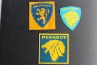 Autocollants automobiles Peugeot