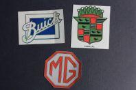 Autocollants automobiles MG Motor Cadillac Buick