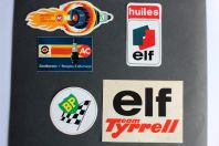 Autocollants accessoires automobiles Eif BP ACDelco