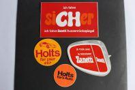 Autocollants accessoires automobiles Holts Zanetti