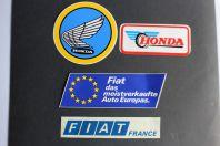 Autocollants automobiles Fiat Honda