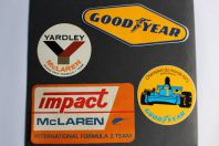 Autocollants automobiles Good Year Mc Laren