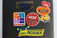 Autocollants accessoires automobiles Monroe NGK Norma Radar Ranger
