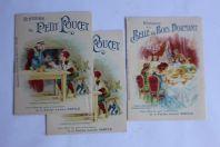 Livrets publicitaires Farine lactée Nestlé contes enfants