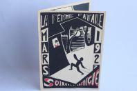Programme théâtre Société étudiants Zofingue 1927 Suisse