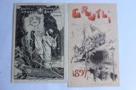 Programme Société étudiants Zofingue Grutli 1907 1897 Suisse