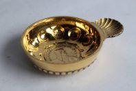Tastevin vermeil COLLET Genève pièce monnaie 5 Fr Suisse