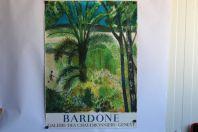 Bardone affiche lithographiée Galerie des chaudronniers Genève 1977