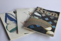 Lot revues Form Design Suédois magazines 1986/87