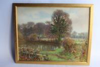 Archibald SMITH Aquarelle Maidenhead Angleterre