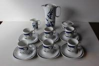 HANS ERNI service a thé porcelaine Langenthal Suisse Bradford Editions