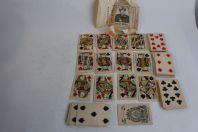 Ancien jeux de cartes a jouer Belge Great Mogul