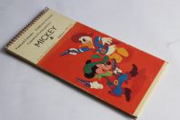 Calendrier Cartes postales Mickey Walt Disney 1971