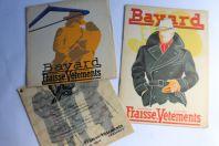 Catalogues publicitaires Magasins BAYARD Grenoble vêtements