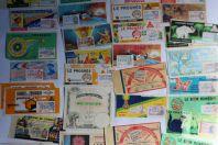 Anciens Billets de Loterie et Tombola (x 35)
