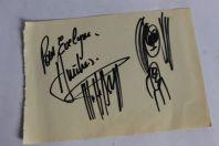 Autographe Michel POLNAREFF