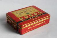 Boite a cigarettes ED. LAURENS Khédive Suisse tôle lithographiée