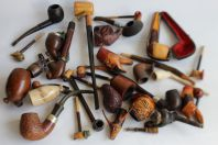 Lot de 29 pipes diverses