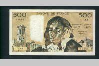 Billet 500 Francs PASCAL 4-11-1976.B. G.63 02862