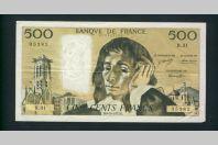 Billet 500 Francs PASCAL 4-10-1973.B.  R.31  35382