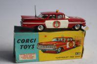 CORGI TOYS 439 Voiture Chevrolet Fire chief